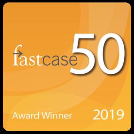 FastCase50 Award Winner 2019